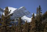 Peaks Along Lake Abraham
