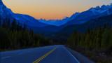 Scenic Banff-Jasper Highway