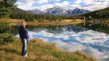 Janet and the Majestic Rocky Mountains