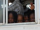 Children in the bus