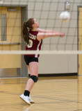 Hailey volleyball 01/24/12