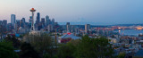 Morning view from Kerry Park