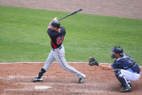 Rene Tosoni singles to right