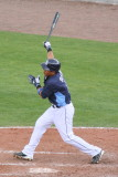 Ray Olmedo at the plate