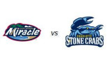Charlotte Stone Crabs 6, Fort Myers Miracle 2
