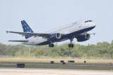 Airbus A320 (N706JB) As Blue As It Gets
