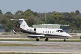 Learjet 55 (N824MG)