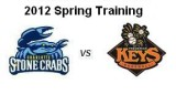 Spring Training: Charlotte Stone Crabs at Frederick Keys (3/14/12)