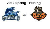 Spring Training: Charlotte Stone Crabs at Frederick Keys (3/21/12)