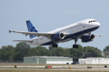 Airbus A320 (N606JB) Idlewild Blue