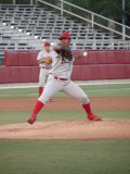 Antonio Bastardo pitching for Clearwater