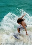 Dahican, surfer's paradise