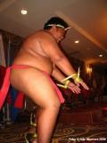 Healthy performing boy