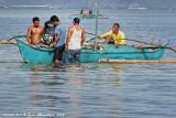 Bringing home fish catch