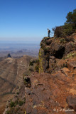 South Rim overlook, Chisos Mtns., TX