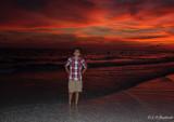 guy on beach