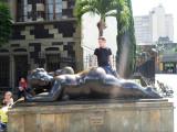 Drew on Mujer Con Espejo - Plaza de Botero.jpg