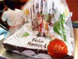 Feliz Navidad Cake in Medellin.jpg