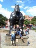 Laura and Drew in Plaza Botero.jpg