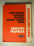 1979 Chevrolet Factory Service Manual - $10.00 - Soft Bound Book approx. 1 1/8 thick