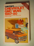 1967-1980 Chevrolet & GMC Vans - $3.00 - Soft Bound Book approx. 5/8 thick.