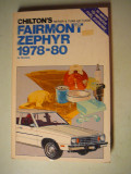 1978-1980 Ford Fairmont & Mercury Zephyr - $3.00 - Soft Bound Book approx. 5/8 thick.