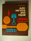 This is a Text Book for General Service and Repair of all Cars - $4.00 - Hard Bound Book approx. 2 thick.
