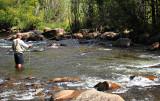 Greg Fishing at Estes Park