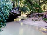 Swift Creek just below Creation Falls, after a big rain