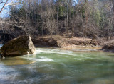 Confluence of Swift Camp Creek and Red River