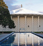 Cal Tech Beckman Auditorium and Fountain