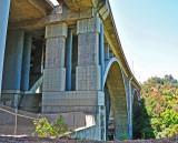 CA 134 Bridge Crossing the Arroyo Seco