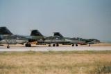 4 F-104s to range