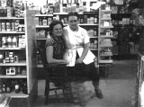Thelma & Sister Shirley 1957- Drugstore