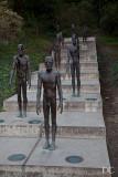 statues honouring survivors of communism
