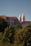 St Nicholas Church in the distance