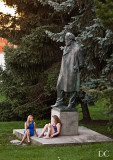 statue of Jan Neruda