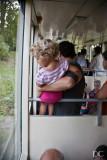little girl on funicular