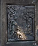 detail, statue of St. John of Nepomuk