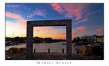 Marina Sunset, HDR image