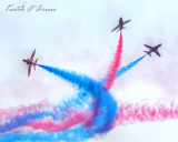 Red Arrows at Beaumaris