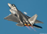 F-22 Raptor wheels up demo
