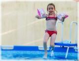 Dans la piscine. Miracle !