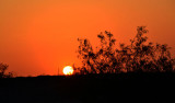 April 28, 2012   Sunset in desert