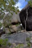 Lion Mountain boulders