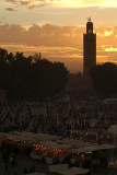Jemaa el Fna at Sunset 3