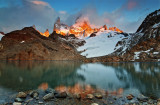 Laguna de Los Tres at Sunrise