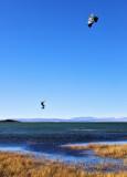 patagonic kitesurfing