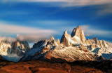 Cerro torre and Fitz Roy
