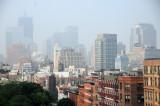 Hot, Humid & Hazy - Downtown Manhattan Skyline